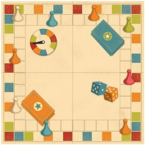 Family Game Night 12x12 Paper
