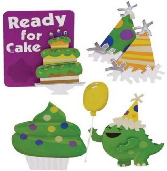 Ready for Cake Stacked Stickers