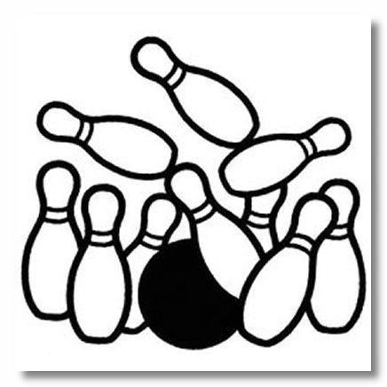 Bowling Die-cut