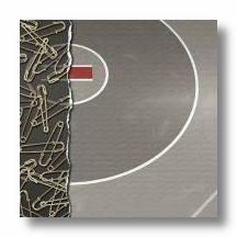Wrestling Pins Strip 12x12 Paper