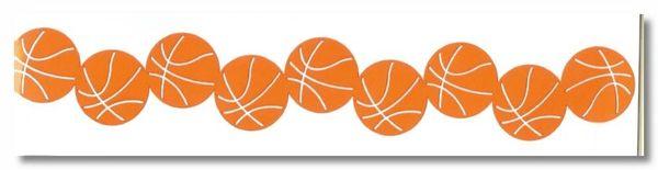 Basketball Border Die-Cut