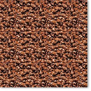 Yummy Chocolate Chips 12x12 Paper