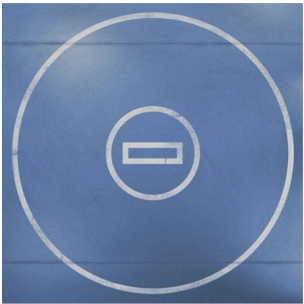 Wrestling Mat Blue 12x12 Paper