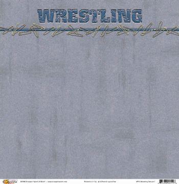 Wrestling Deluxe I 12x12 Paper