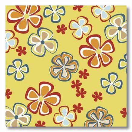 Aloha Flowers 12x12 Paper