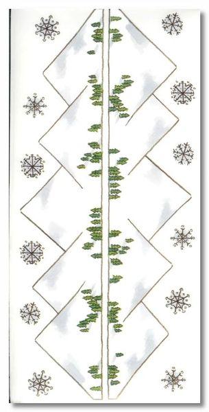 Winter Mountains Sticker