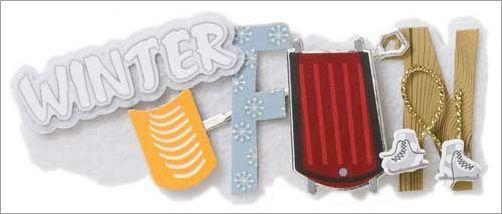 Winter Fun Short Stack Sticker