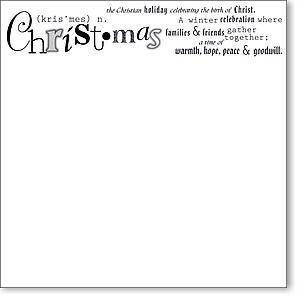Christmas 12x12 Overlay