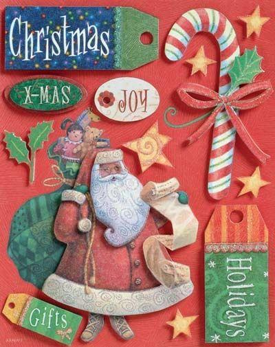 Christmas Grand Adhesions Sticker