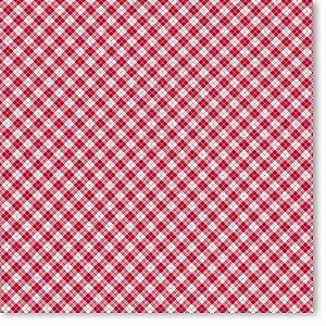 Christmas Plaid 12x12 Paper