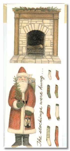Christmas Santa Sticker