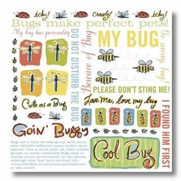 Cool Bug Rub-On