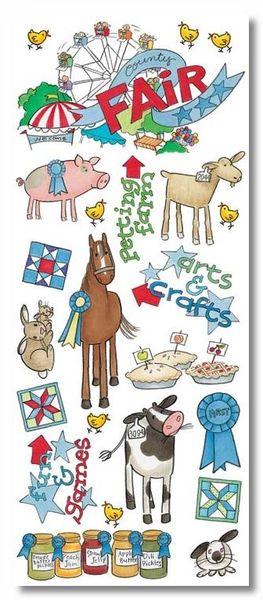 County Fair Sticker