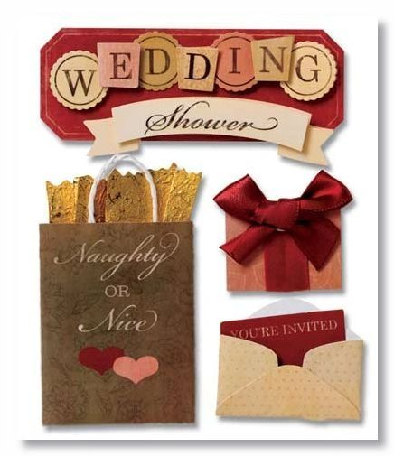 Wedding Shower Stacked Stickers