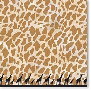 Wild Things Giraffe 12x12 Paper