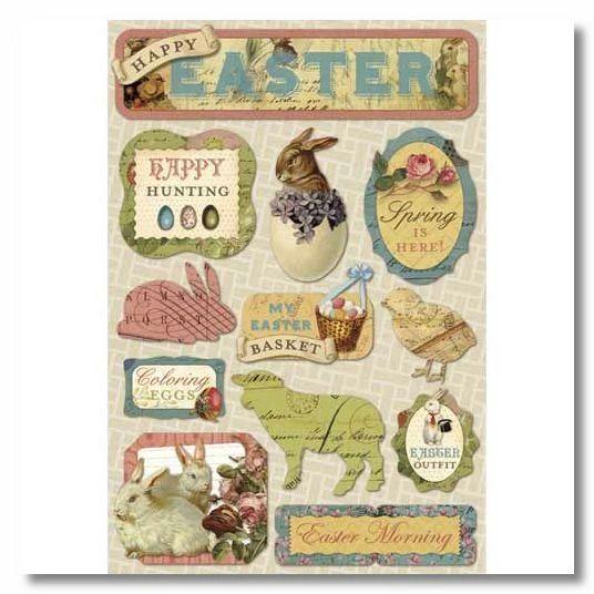 Vintage Easter Sticker