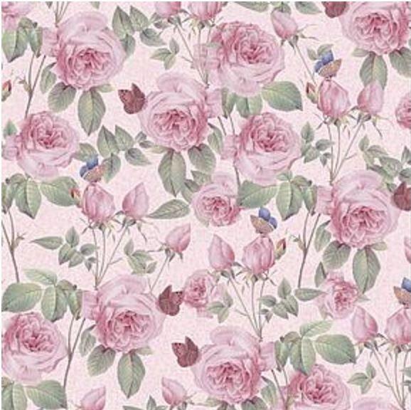 Vintage Roses 12x12 Paper