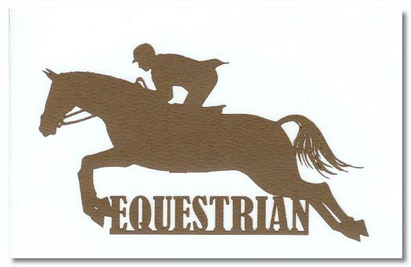 Equestrian Die-cut