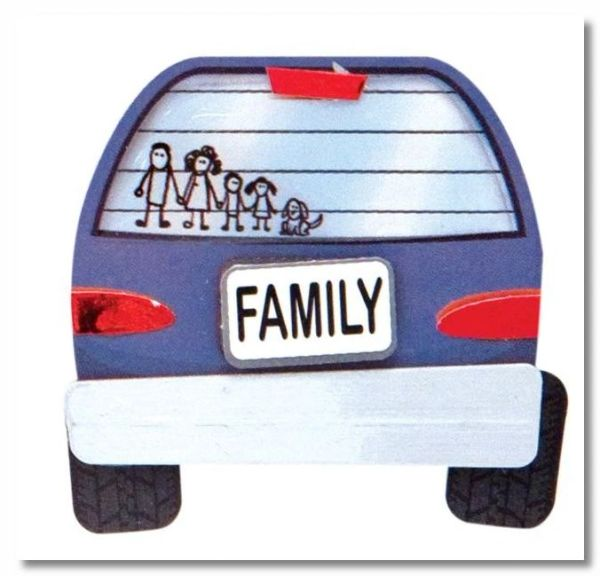 Family Lil' Stack Sticker