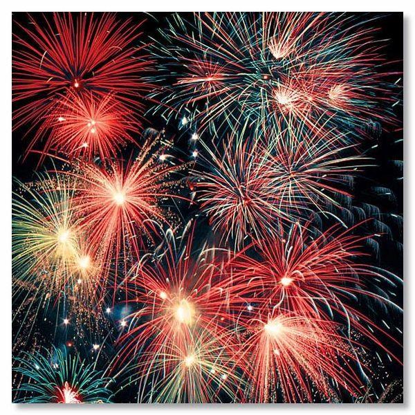 Fireworks 12x12 Paper