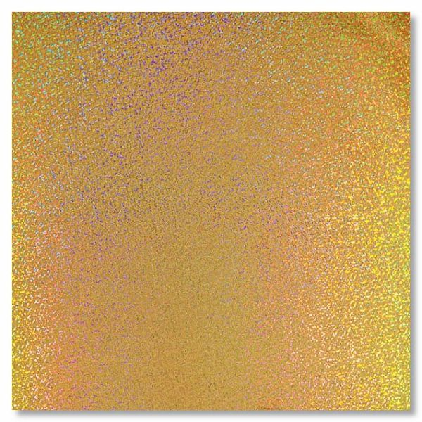 Gold Sparkles Holographic 12x12 Paper