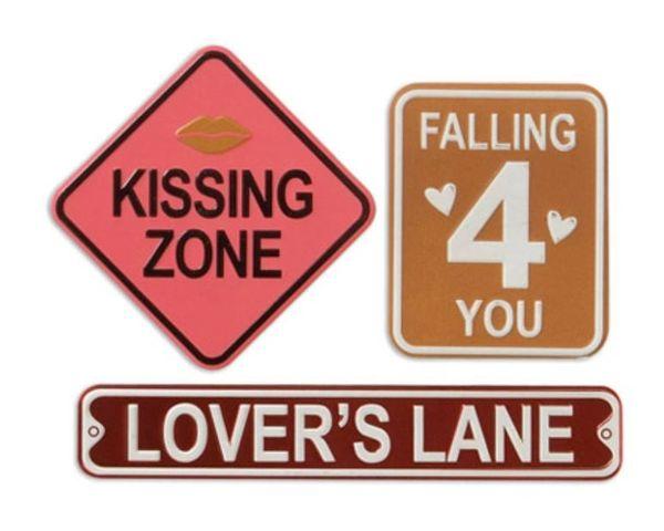Valentines Metal Signs