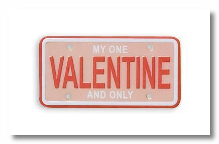 Valentine Scrap Plate