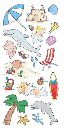 Tropical Kids Accessories Sticker