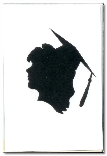 Graduation Girl Die-cut