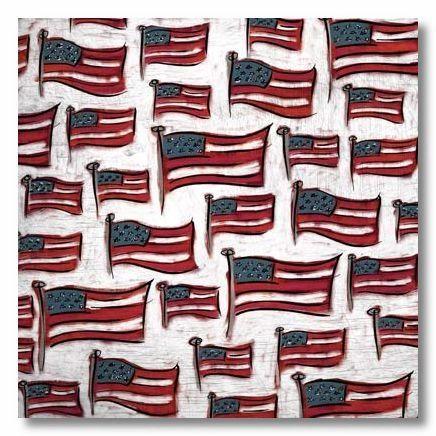 Grand Ole Flag 12x12 Paper