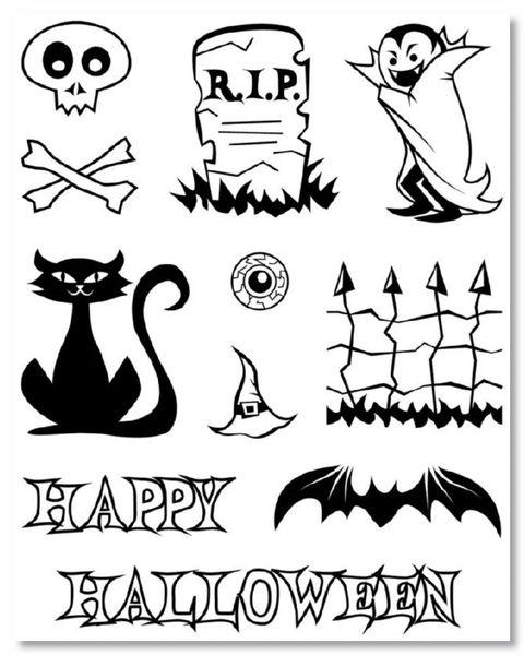 Halloween Clear Stamp Set