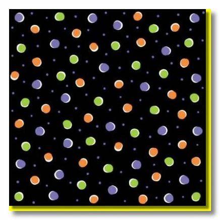 Halloween Dots 12x12 Paper