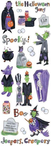 Halloween Gang Stickers