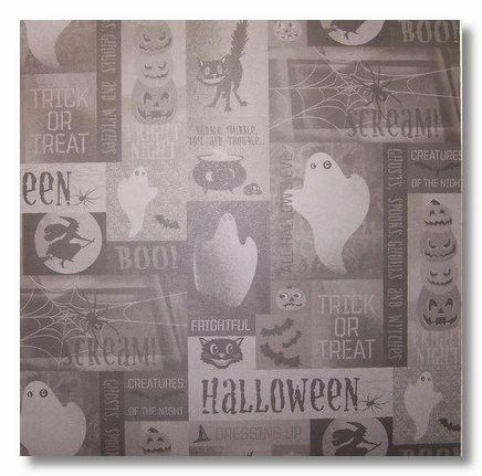Halloween Night 12x12 Paper