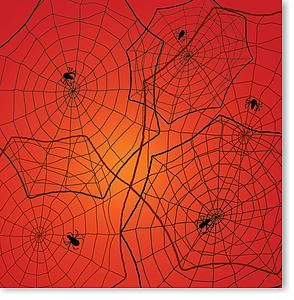 Halloween Spiders 12X12 Paper