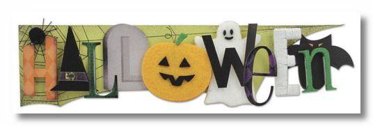 Halloween Stacked Statement Sticker