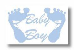 Baby Boy Die-Cut