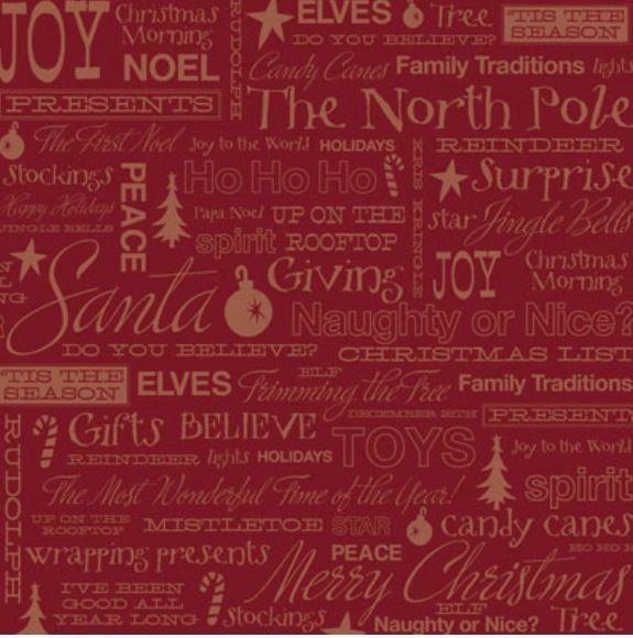 Tis The Season Collage 12x12 Paper