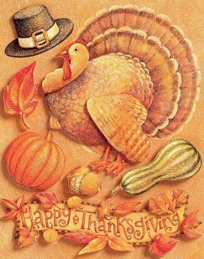Thanksgiving Grand Adhesions Sticker