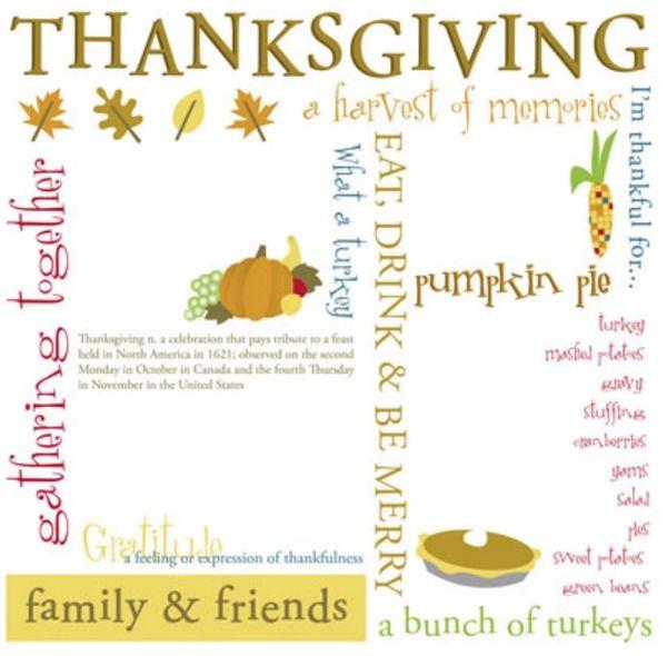 Thanksgiving Rub-On