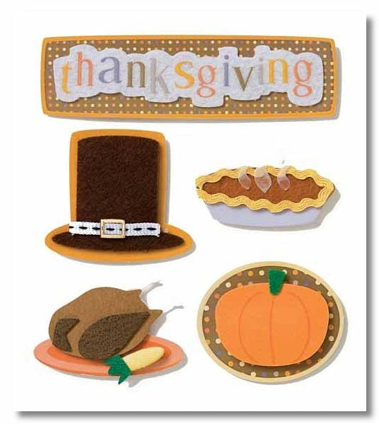 Thanksgiving Stacked Stickers