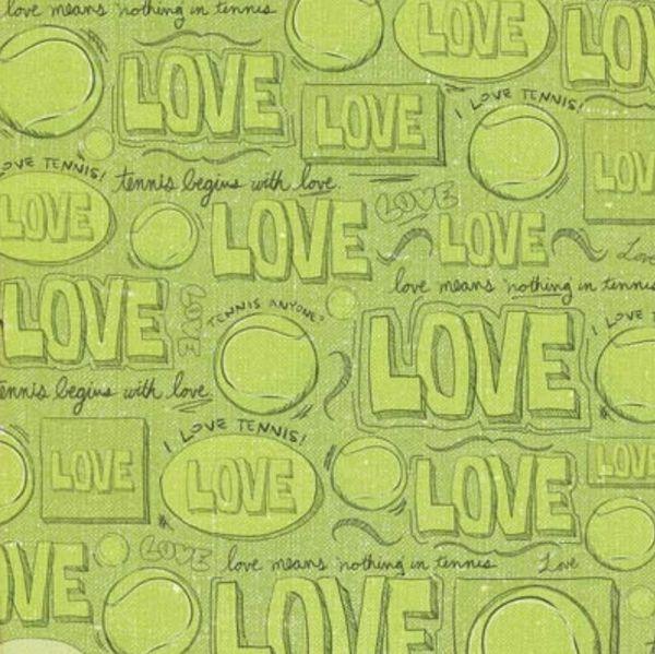 Tennis I Love 12x12 Paper
