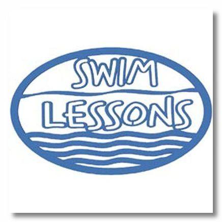 Swim Lessons Die-cut