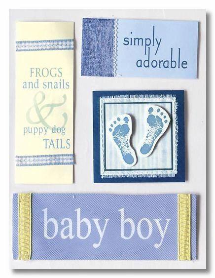Baby Boy Sticker