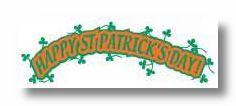 St. Patricks Day Die-Cut