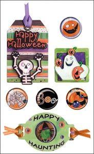 Spookytown Mixed Media Sticker