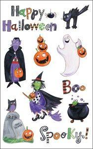 Spookytown Rub-ons