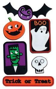 Spookytown Treads Sticker