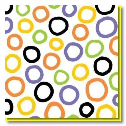 Spooky Circles 12x12 Paper