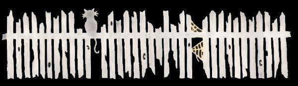 Spooky Fence Die-Cut